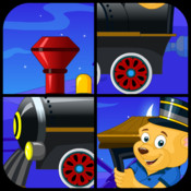 Puzzles Train For Kids app icon